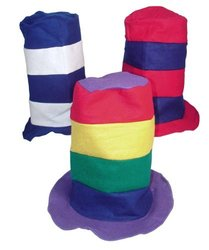 Stovepipe Party Hat Assortment (1 dz) [Toy]