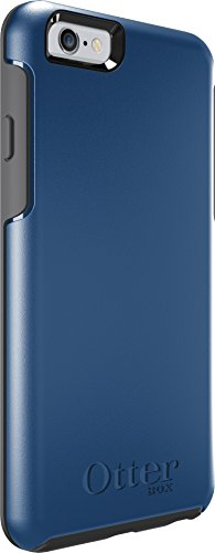 OtterBox Symmetry Series Case for iPhone 6 6s - Blue Print II   Grey ... 8418fe241067