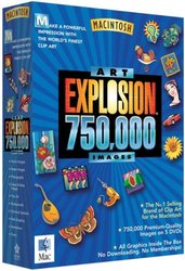 Nova Development Art Explosion 750,000 Software for Mac ARMT