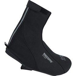 Gore Bike Wear Men's Windstopper Soft Shell Overshoes - Black - Size: 44