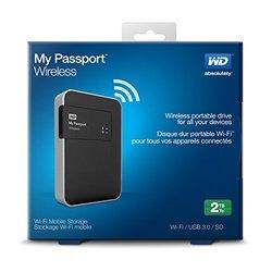 WD My Passport Wireless 2TB Wi-Fi Mobile Storage (WDBDAF0020BBK-NESN)