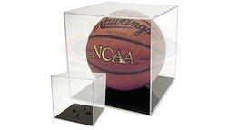 BallQube Grand Stand Basketball / Holder Acrylic Display Case