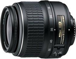 Nikon 18-55mm F/3.5-5.6g Dxii Digital Camera Lens - Black (AFSDX18-55G2)